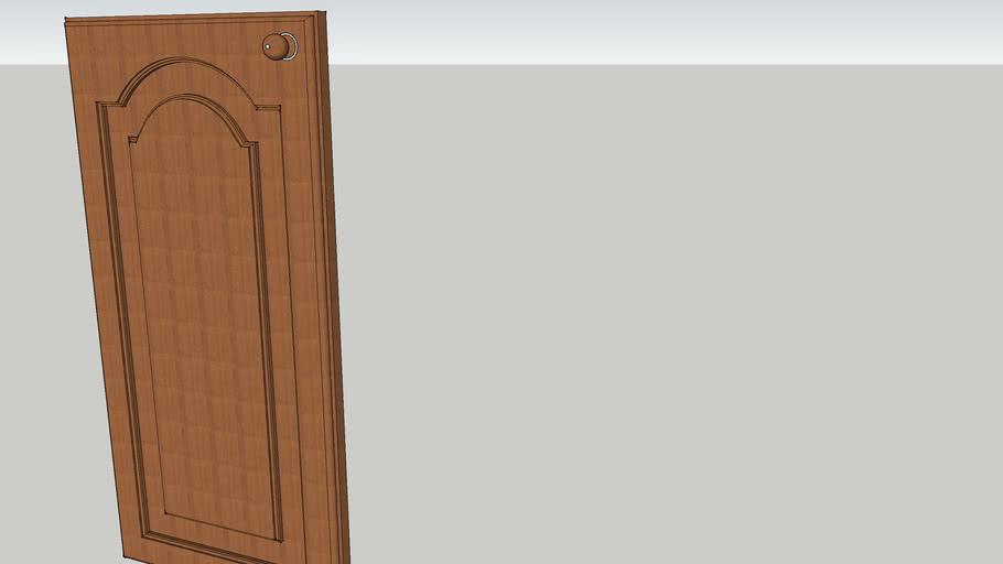 puerta bajo mesada
