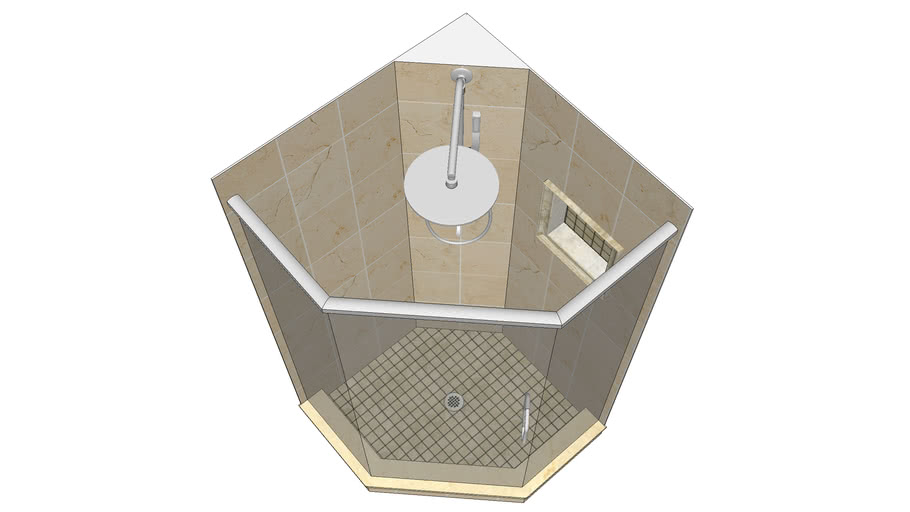 Custom Neo-Angle Shower