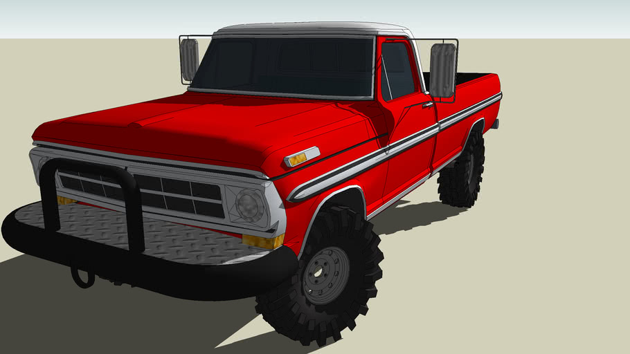 1972 Ford F100 4x4