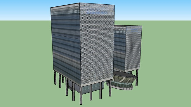 Recently Constructed Building in Putrajaya by Andreas Lauer SV: Alias Abdul Rahman, Volker Coors