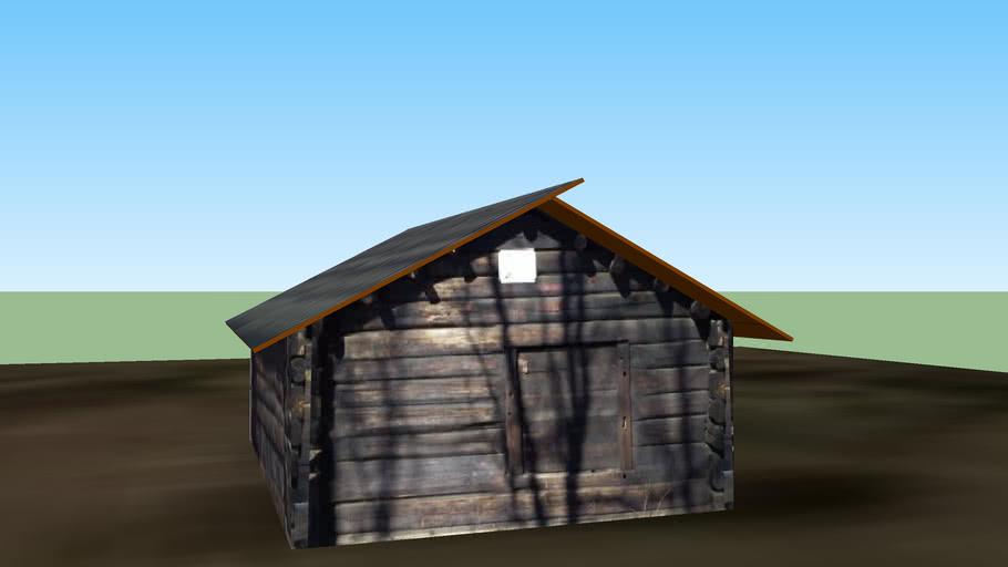 Ängslada 1700-tal (meadow barn)