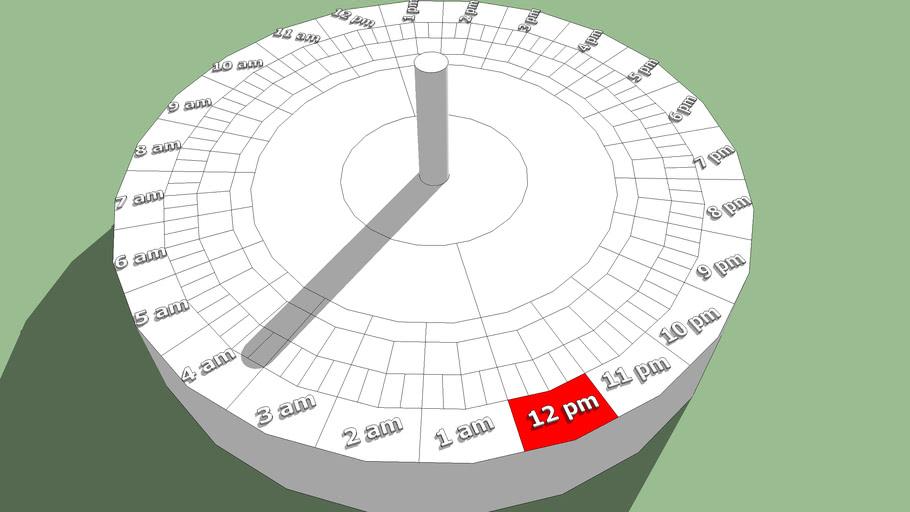 Equatorial Sundial EDITING