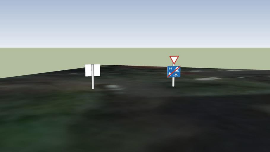 Közlekedési táblák Budapesten, Hajdú köz, Fiastyúk utca