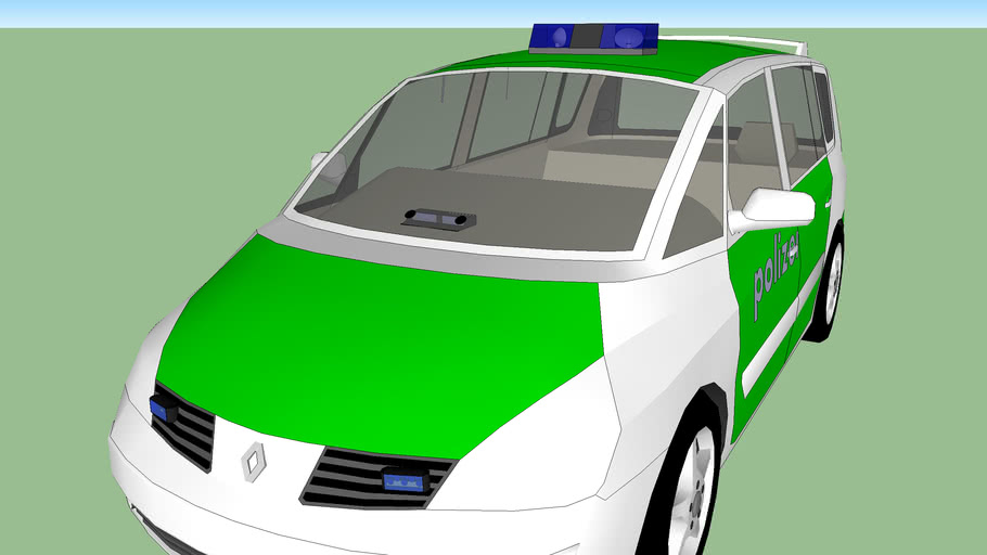 voiture de police allemande