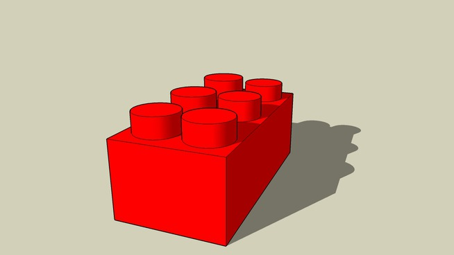 RED LEGO