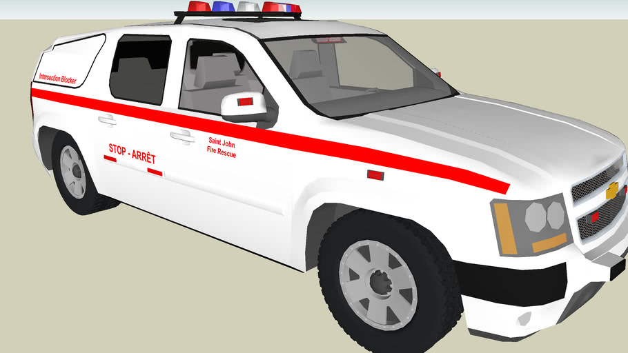 Saint John Fire: Intersection Blocker