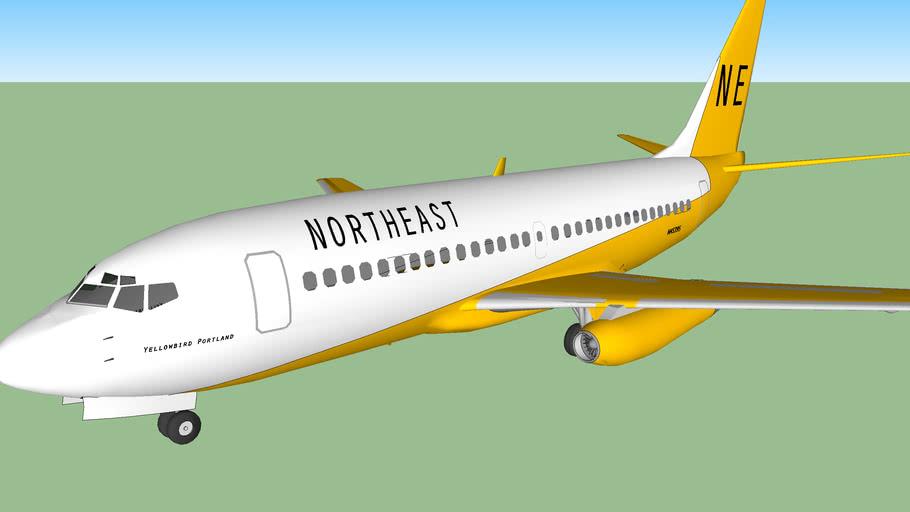 Northeast Airlines Boeing 737-295