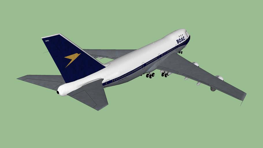 Boeing 747-136 G-AWNL BOAC