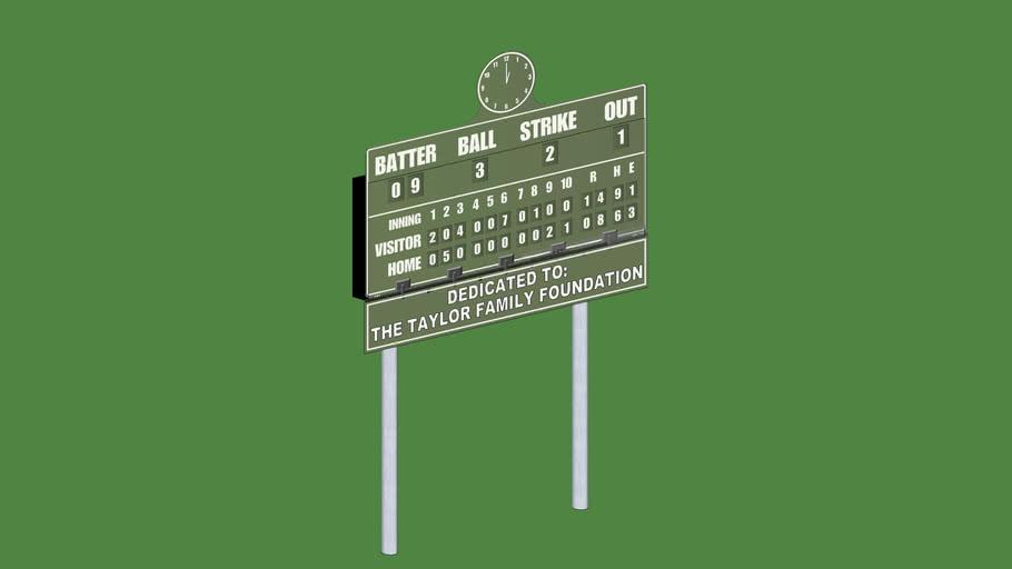 Parkhurst Scoreboard
