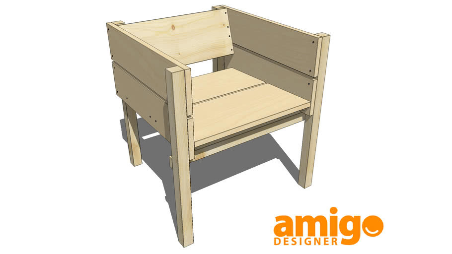 Wood Chair - Lucas Maassen