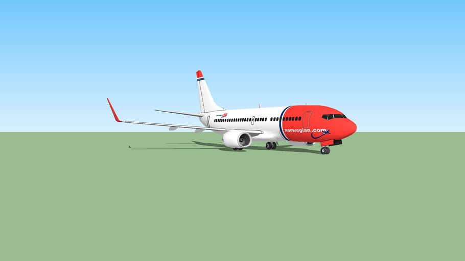 Boeing 737-200SP Norwegian Air