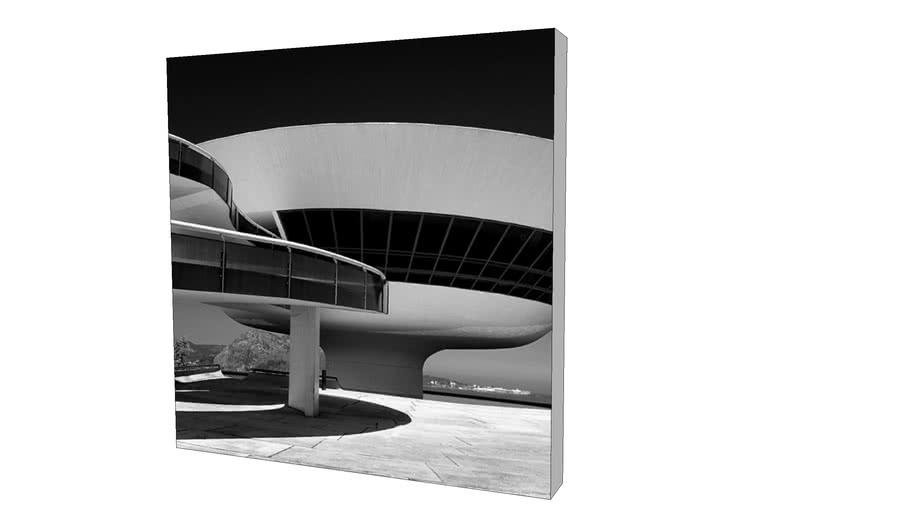 Quadro Dorival Moreira - Coleção Rio de Janeiro: MAC (Niterói)