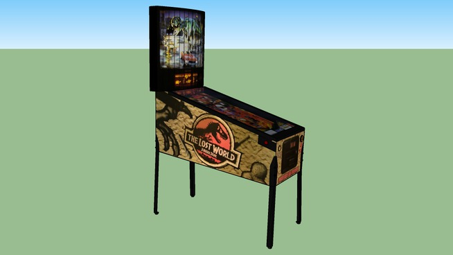 Lost World Pinball game
