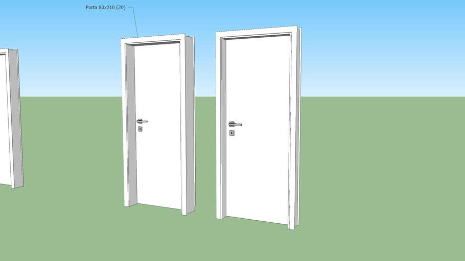 Portas (70, 80 e 90 x 2,10)