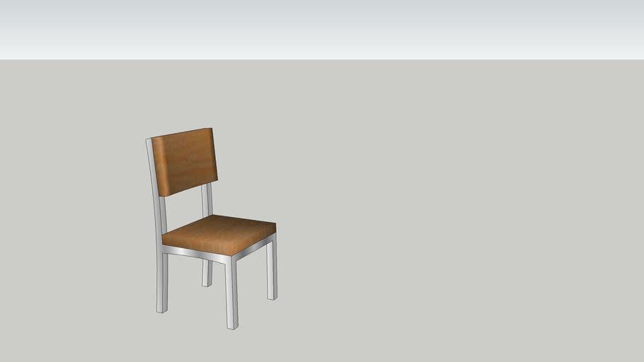 Metal + Wood Chair