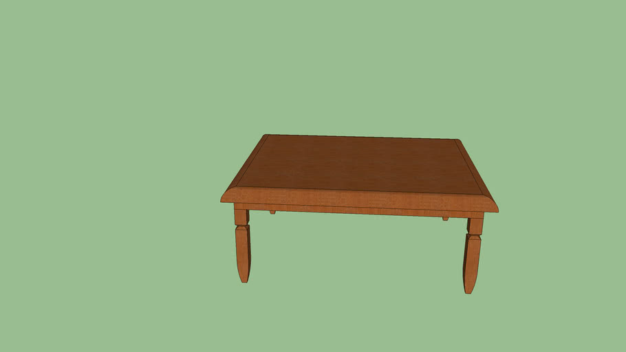Prep Room Wooden Table