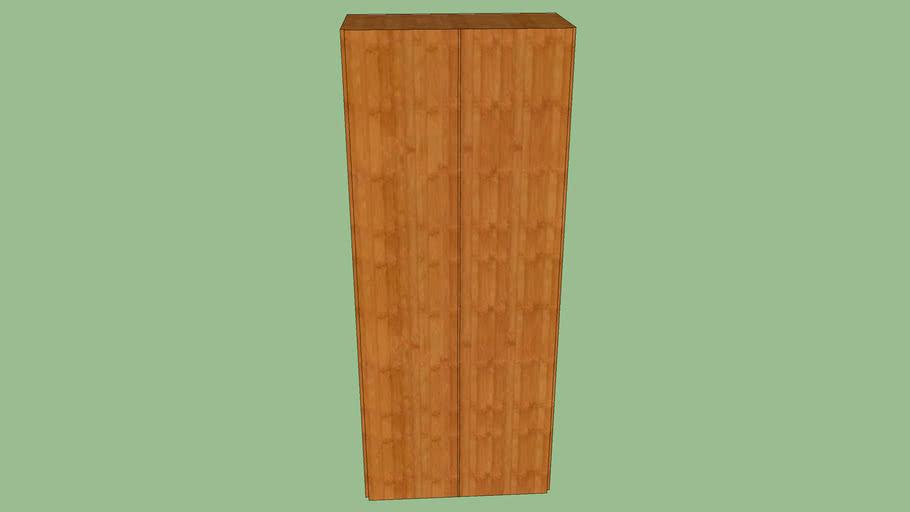 Wood venier cabinent