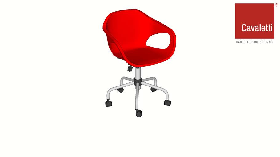 Cavaletti Stay - Cadeira Giratória 33104