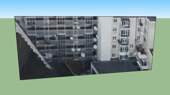 Gebäude in Berlin, Deutschland schulstr.
