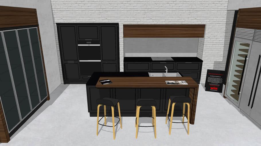 ROME Black Matt - WITT Kitchen