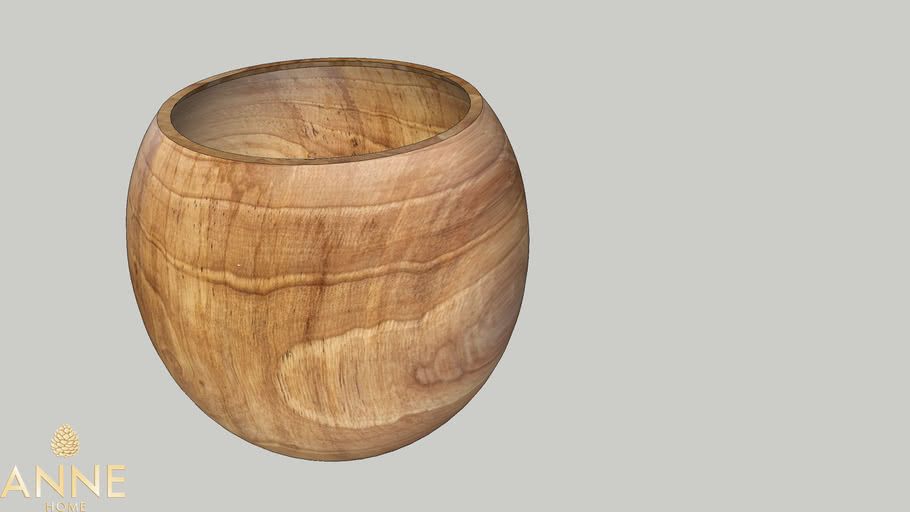 Vaso Bola Wood