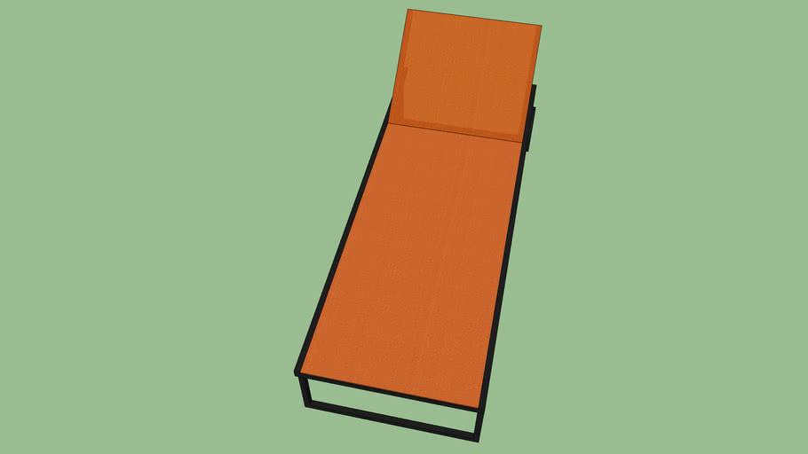 Allux Lounger Orange