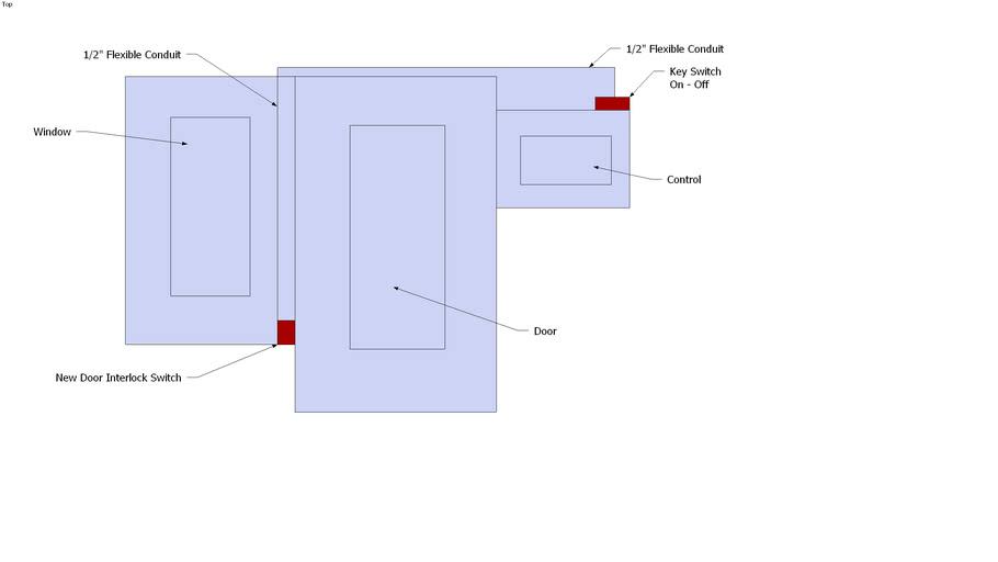 Ingersoll Rand Door Safety Switch