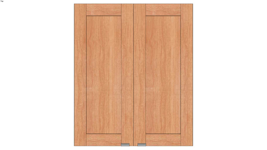 Wall Double Door 36Hx15D