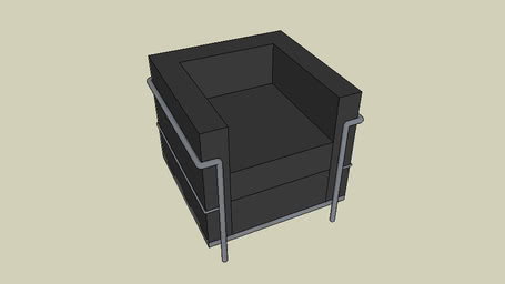 Poltrona Le Corbusier | 3D Warehouse