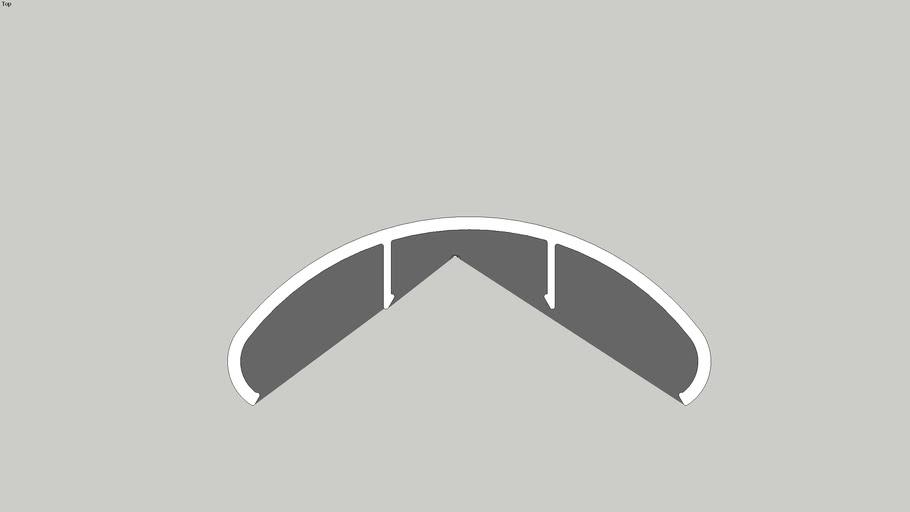 KESBTFO - Handrail Clip Oval (B)