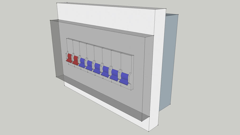 Kotak MCB 8 Grup - Simple