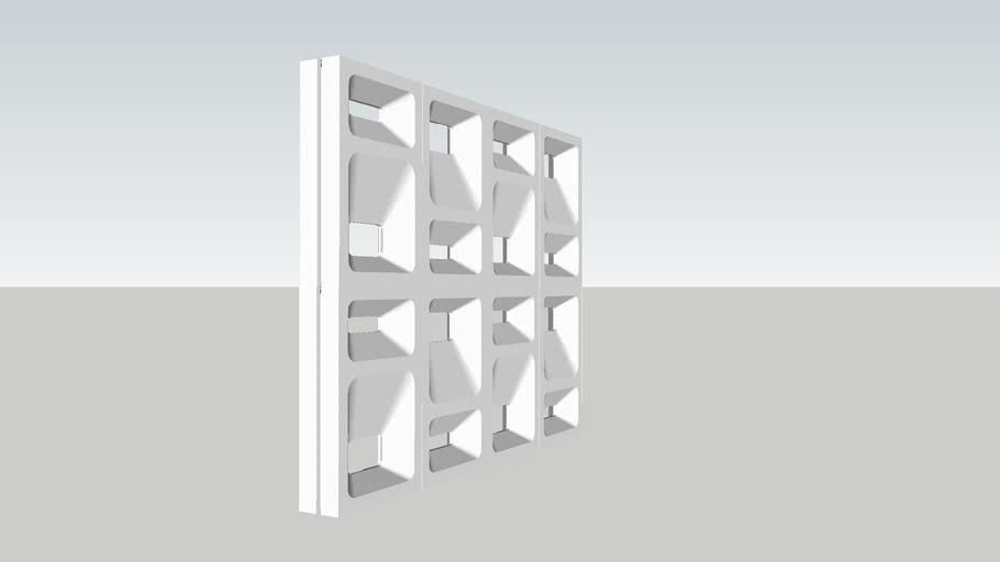3D перегородки Crat 3D partitions plaster walls gypsum blocks