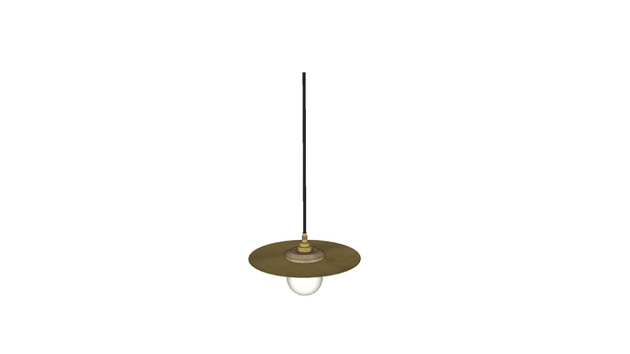 Roswell Large Pendant - Contemporary Lighting by Liqui