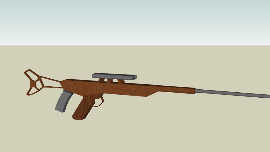 hunting sniper rifle