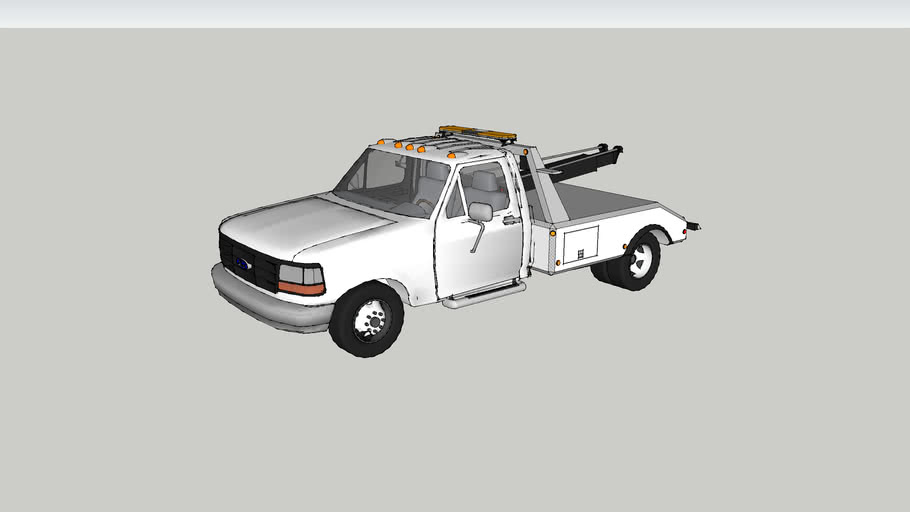 1998 Ford F-350 tow truck