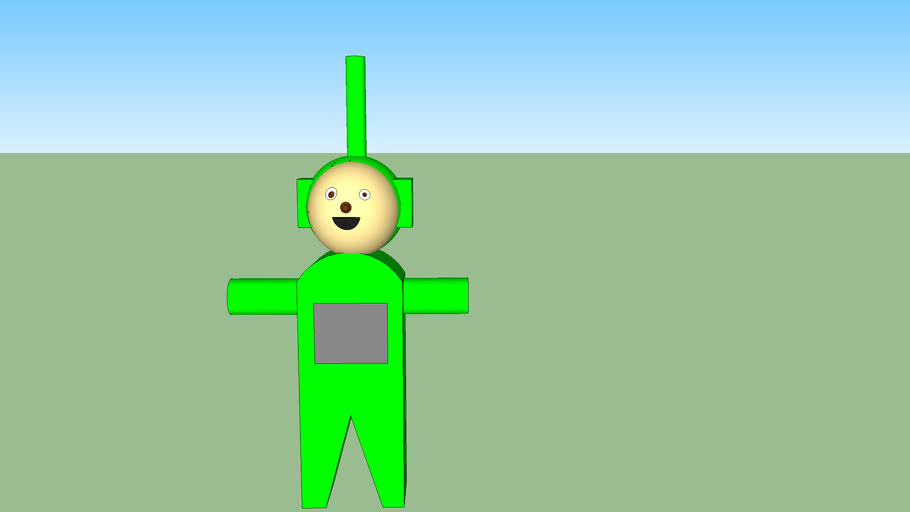Dipsy the green teletubby