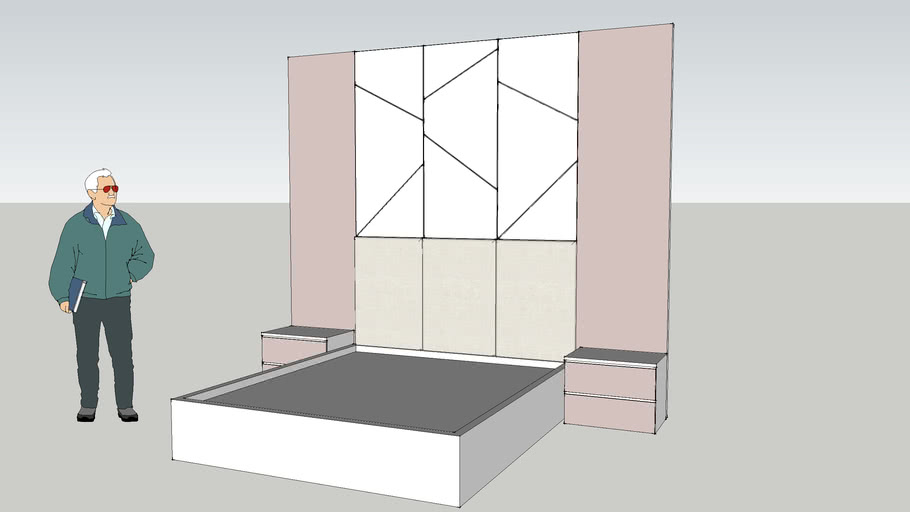 Bed and Head bed design