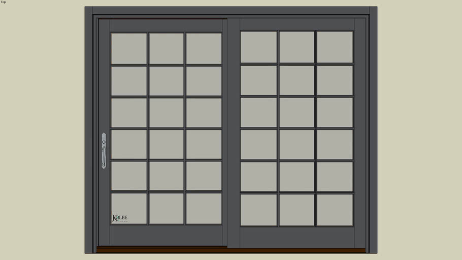 "Kolbe Ultra Garden-Aire Patio Door GAU8068 (F.S. 8'-0"" x 6'-10 7/16"" R.O. 8'-0 1/2"" x 6'-10 15/16"")"