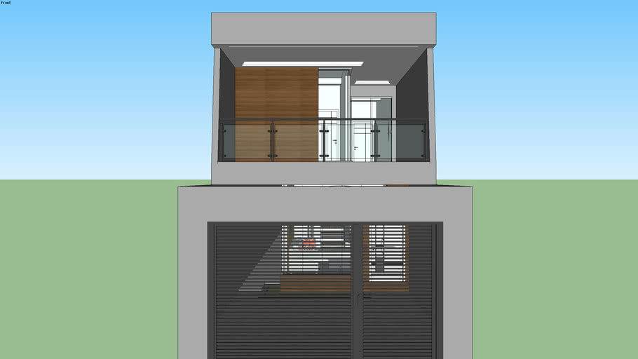 Residência - Terreno 5x25