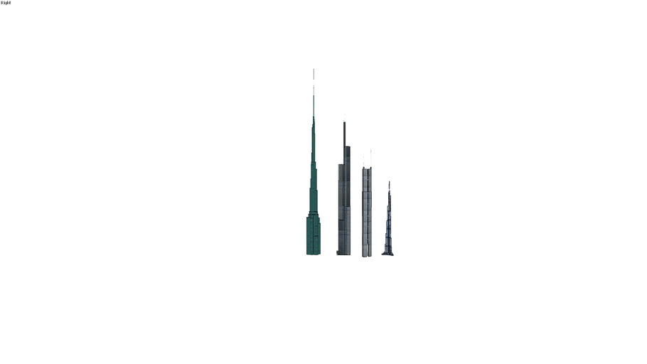 Tallest uncompleted buildings in the World