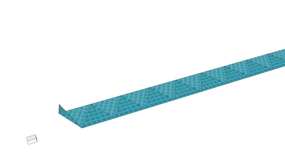 Hexaflexagon template
