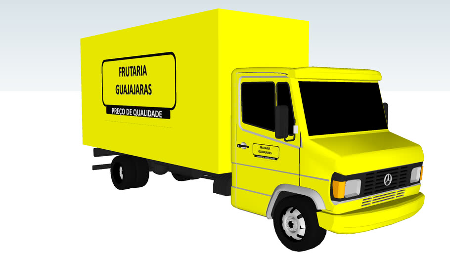 CAMINHÃO BAU DA FRUTARIA GUAJAJARAS