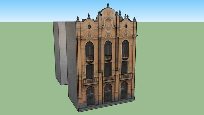 Edificio de la Sociedad de Ingenieros del Perú, Lima.