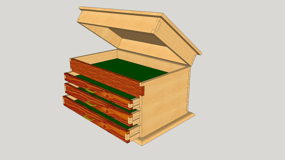 Wooden Tool Chest UPDATED