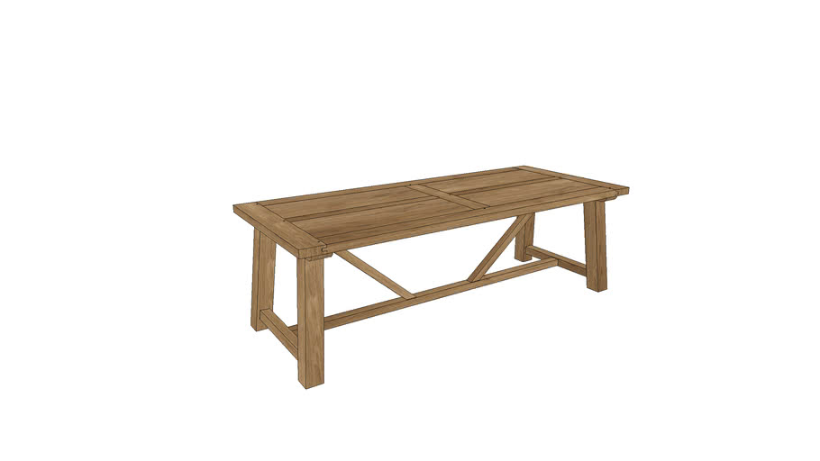 LM103, Lombardy Dining Table 240x100cm