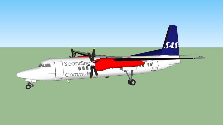 SAS Fokker 50