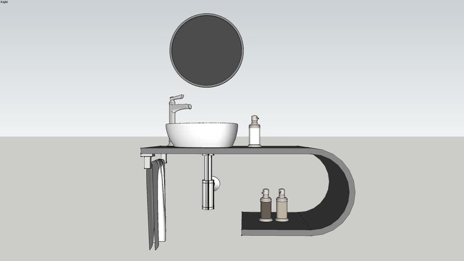 bathroom furniture VALENCIA BY SAIF