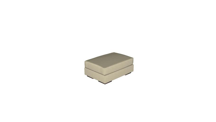 Florense Modula - Puff Retangular c/ Almofada 940x390x660