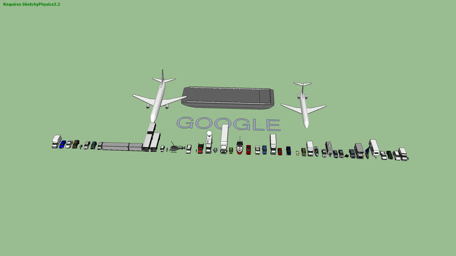 Google's ultimate Transportation Collection