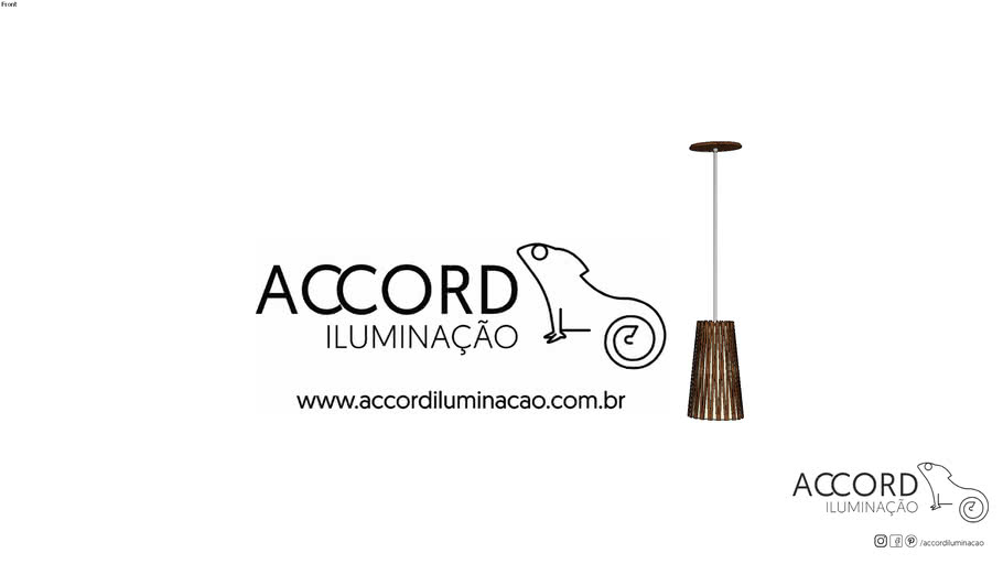 Pendente Accord Living Hinges 1239